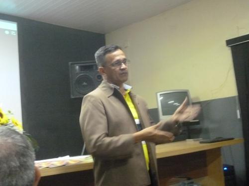 O professor doutor Silas Borges, avaliador do IAP